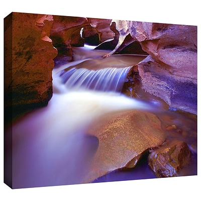 ArtWall Fremont River Slot Gallery-Wrapped Canvas 14 x 18 (0uhl025a1418w)