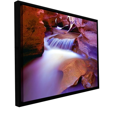 ArtWall Fremont River Slot Gallery-Wrapped Canvas 18 x 24 Floater-Framed (0uhl025a1824f)
