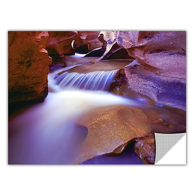 Artwall Fremont River Slot 14 x 18 Art Appeelz Removable Wall Art Graphic (0uhl025a1418p)