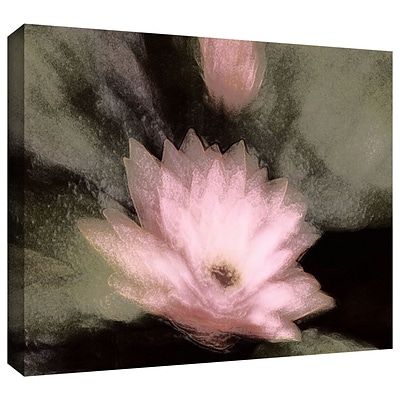 ArtWall Lily And Bud Gallery-Wrapped Canvas 36 x 48 (0uhl028a3648w)