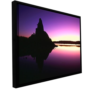 ArtWall Mono Lake Dawn Gallery-Wrapped Canvas Floater-Framed 18 x 24 (0uhl029a1824f)