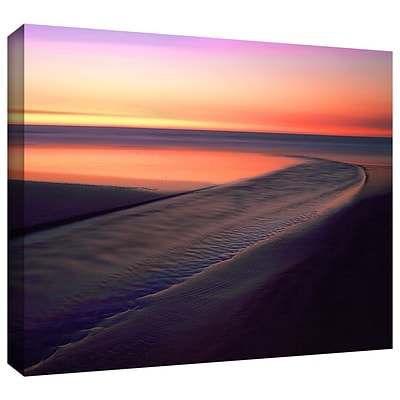 ArtWall Out To Sea Gallery-Wrapped Canvas 14 x 18 (0uhl030a1418w)