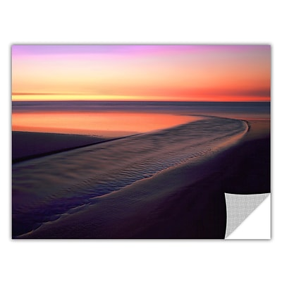 ArtWall Out To Sea Art Appeelz Removable Wall Art Graphic 18 x 24 (0uhl030a1824p)