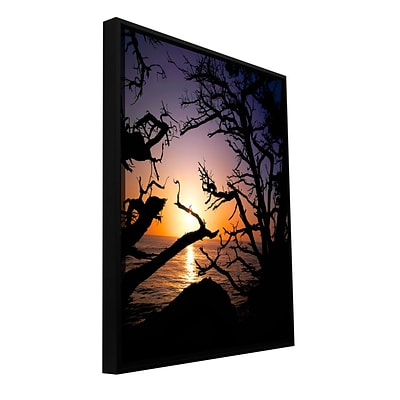 ArtWall Pacific Light Gallery-Wrapped Canvas 36 x 48 Floater-Framed (0uhl031a3648f)