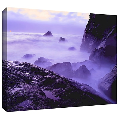 ArtWall Patricks Point Sunset Gallery-Wrapped Canvas 24 x 32 (0uhl033a2432w)