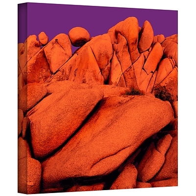 ArtWall Santa Ana Afterglow Gallery-Wrapped Canvas 36 x 36 (0uhl034a3636w)