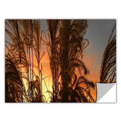 ArtWall Summer Grass Art Appeelz Removable Wall Art Graphic 12 x 24 (0uhl037a1224p)