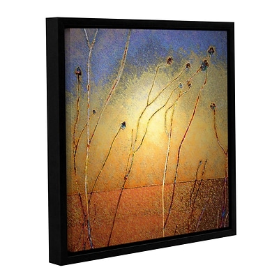 ArtWall Texas Sand Storm Gallery-Wrapped Canvas 14 x 14 Floater-Framed (0uhl039a1414f)
