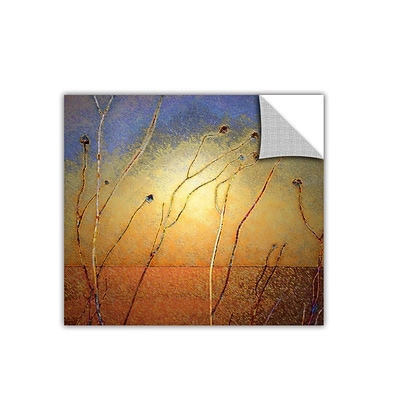 ArtWall Texas Sand Storm Art Appeelz Removable Wall Art Graphic 18 x 18 (0uhl039a1818p)