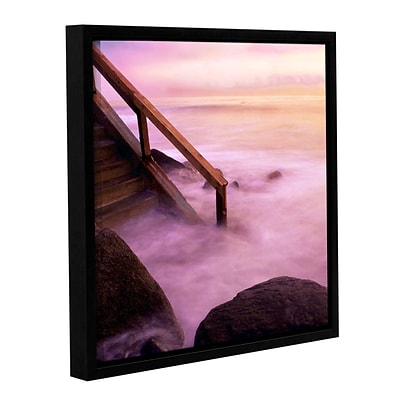 ArtWall To Somewhere Gallery-Wrapped Canvas 14 x 14 Floater-Framed (0uhl040a1414f)