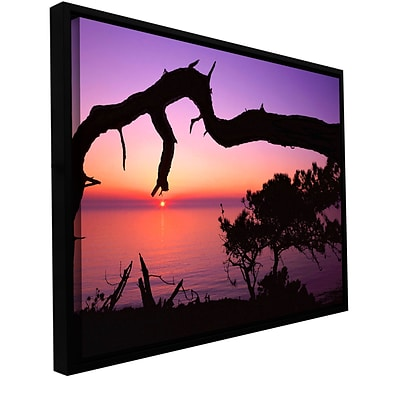 ArtWall Torrey Bridge Gallery-Wrapped Canvas 18 x 24 Floater-Framed (0uhl041a1824f)