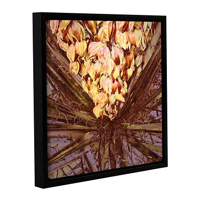 ArtWall Yucca Impression Gallery-Wrapped Canvas 36 x 36 Floater-Framed (0uhl046a3636f)
