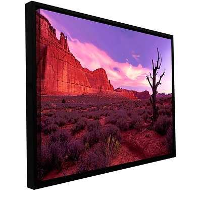 ArtWall High Desert Dawn Gallery-Wrapped Canvas 36 x 48 Floater-Framed (0uhl051a3648f)