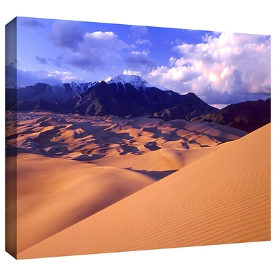 ArtWall Great Sand Dunes Gallery-Wrapped Canvas 24 x 32 (0uhl052a2432w)