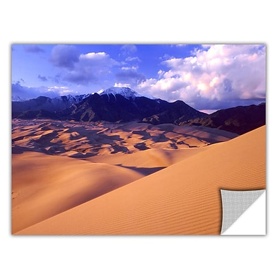 Artwall Great Sand Dunes Art Appeelz Removable Wall Art Graphic 18 x 24 (0uhl052a1824p)