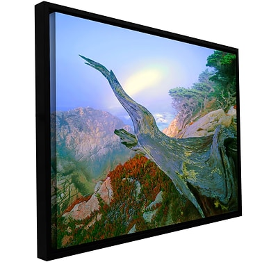 ArtWall Like A Flame Gallery-Wrapped Canvas 18 x 24 Floater-Framed (0uhl057a1824f)