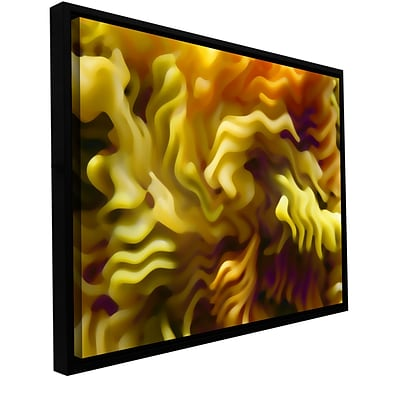 ArtWall Pasta Wave Gallery-Wrapped Canvas 36 x 48 Floater-Framed (0uhl062a3648f)