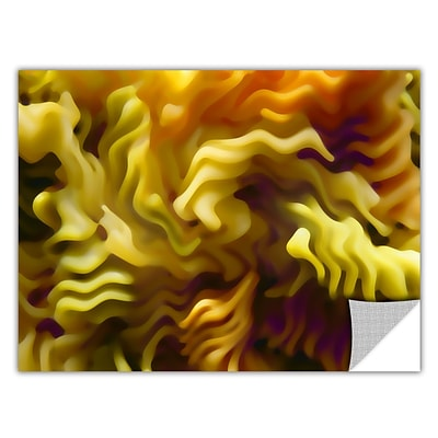 ArtWall Pasta Wave Art Appeelz Removable Graphic Wall Art 18 x 24 (0uhl062a1824p)
