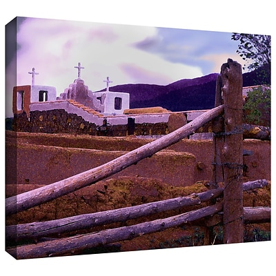 ArtWall Twilight Taos Gallery-Wrapped Canvas 36 x 48 (0uhl063a3648w)