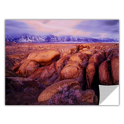 ArtWall Sierra Dawn Storm Light Art Appeelz Removable Wall Art Graphic 24 x 32 (0uhl064a2432p)