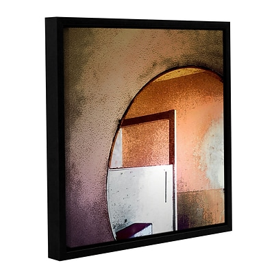 ArtWall Western Progress Gallery-Wrapped Canvas 14 x 14 Floater-Framed (0uhl068a1414f)