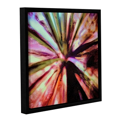ArtWall Agave Glow Gallery-Wrapped Canvas 14 x 14 Floater-Framed (0uhl069a1414f)