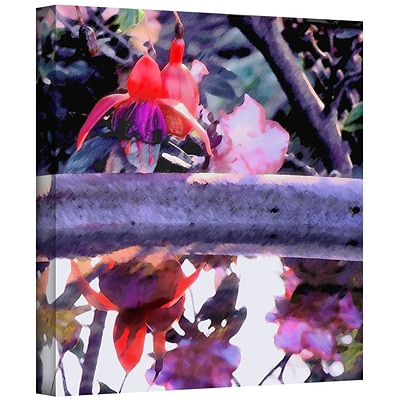 ArtWall Birdbath Gallery-Wrapped Canvas 18 x 18 (0uhl070a1818w)