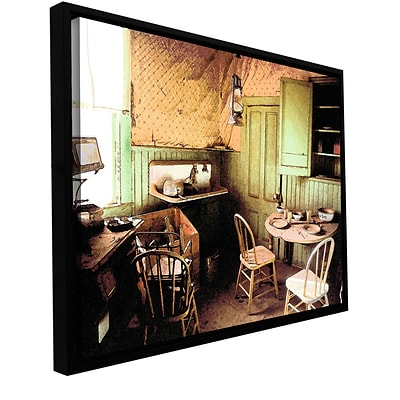 ArtWall Ghost Kitchen Gallery-Wrapped Canvas 36 x 48 Floater-Framed (0uhl075a3648f)