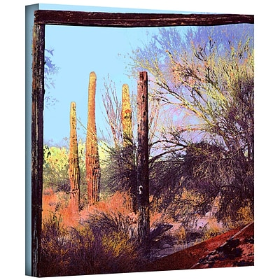 ArtWall Ghost Ranch 2 Gallery-Wrapped Canvas 14 x 14 (0uhl076a1414w)
