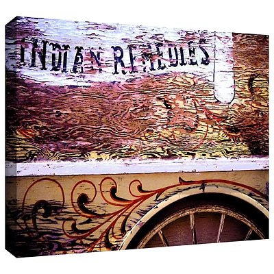 ArtWall Indian Remedies Gallery-Wrapped Canvas 24 x 32 (0uhl078a2432w)