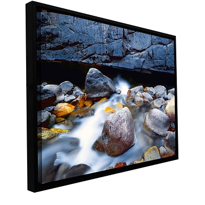 ArtWall Kings River Gallery-Wrapped Canvas 36 x 48 Floater-Framed (0uhl079a3648f)