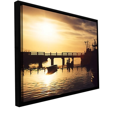 ArtWall Mazatlan Morning Gallery-Wrapped Canvas 36 x 48 Floater-Framed (0uhl082a3648f)