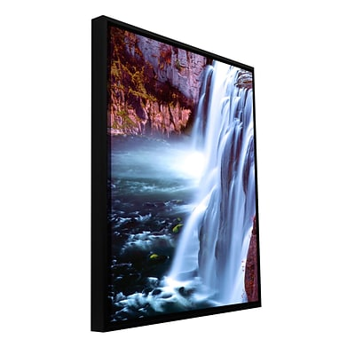 ArtWall Mesa Falls Morning Gallery-Wrapped Canvas 36 x 48 Floater-Framed (0uhl083a3648f)