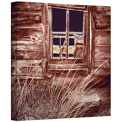 ArtWall Miners Cabin Gallery-Wrapped Canvas 18 x 18 (0uhl084a1818w)