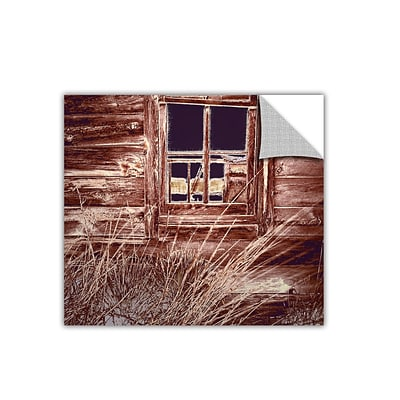 ArtWall Miners Cabin Art Appeelz Removable Wall Art Graphic 36 x 36 (0uhl084a3636p)