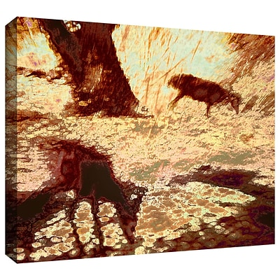 ArtWall Morning Deer Gallery-Wrapped Canvas 36 x 48 (0uhl085a3648w)
