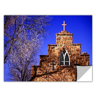 ArtWall Navajo Church Art Appeelz Removable Wall Art Graphic 36 x 48 (0uhl087a3648p)