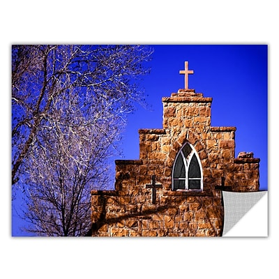ArtWall Navajo Church Art Appeelz Removable Wall Art Graphic 14 x 18 (0uhl087a1418p)