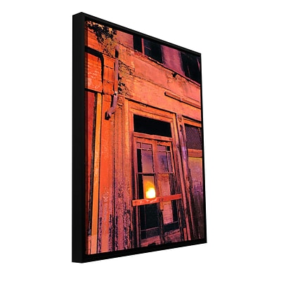 ArtWall Old Sacramento Gallery-Wrapped Canvas 14 x 18 Floater-Framed (0uhl089a1418f)