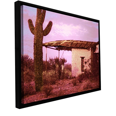 ArtWall Past By The Future Gallery-Wrapped Canvas 18 x 24 Floater-Framed (0uhl090a1824f)