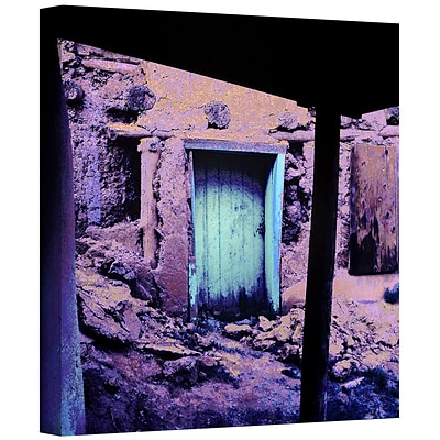 ArtWall Past Through The Door Gallery-Wrapped Canvas 14 x 14 (0uhl091a1414w)