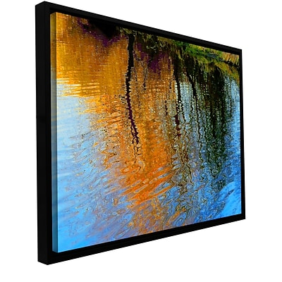 ArtWall Rogue Reflections Gallery-Wrapped Canvas 24 x 32 Floater-Framed (0uhl095a2432f)