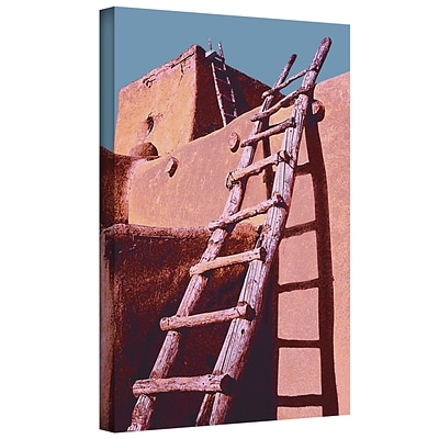 ArtWall The Pueblo Gallery-Wrapped Canvas 24 x 32 (0uhl100a2432w)