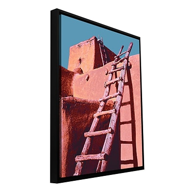 ArtWall The Pueblo Gallery-Wrapped Canvas 14 x 18 Floater-Framed (0uhl100a1418f)