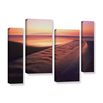 ArtWall Back To The Sea 4-Piece Gallery-Wrapped Canvas Staggered Set 24 x 36 (0uhl101i2436w)