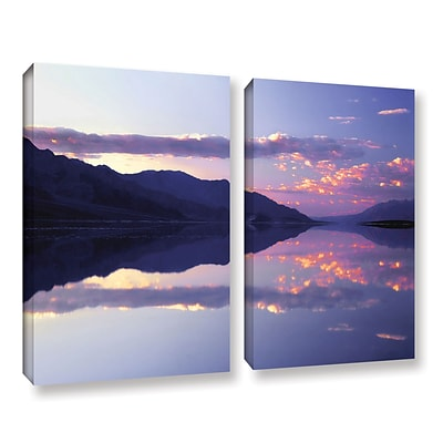 ArtWall Bad Water Sunset 2-Piece Gallery-Wrapped Canvas Set 24 x 36 (0uhl102b2436w)