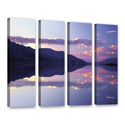 ArtWall Bad Water Sunset 4-Piece Gallery-Wrapped Canvas Set 24 x 32 (0uhl102d2432w)