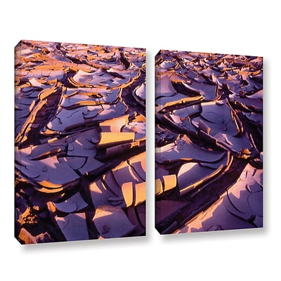ArtWall Barro Magnifico 2-Piece Gallery-Wrapped Canvas Set 24 x 32 (0uhl103b2432w)