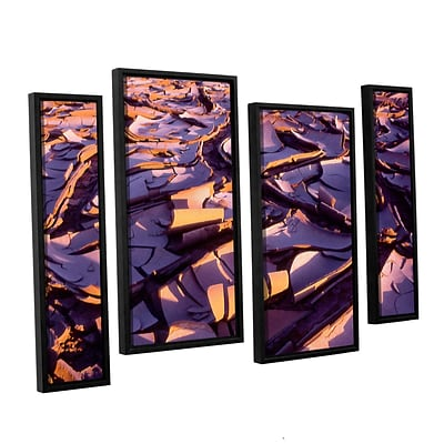 ArtWall Barro Magnifico 4-Piece Canvas Staggered Set 36 x 54 Floater-Framed (0uhl103i3654f)