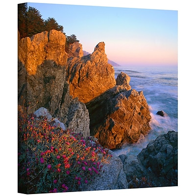 ArtWall Big Sur Sunset Gallery-Wrapped Canvas 36 x 36 (0uhl104a3636w)